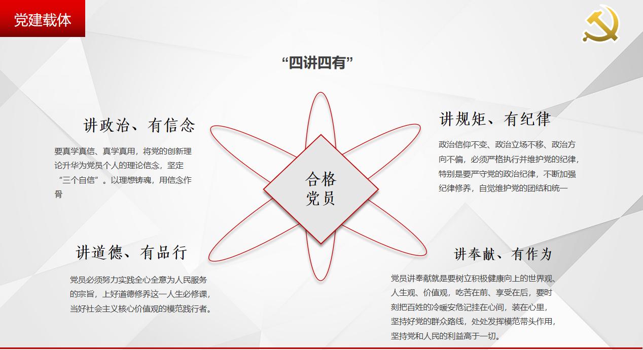 安康镇坪县市场监督管理局党建展览馆设计方案-党建载体