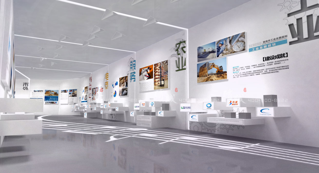 商洛市创业展览馆设计效果图