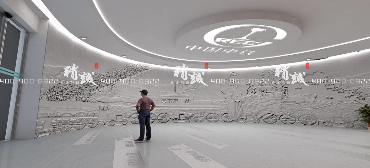 展馆展厅里面的浮雕和雕塑一般代表什么意思