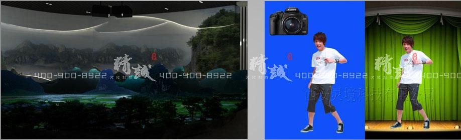 旅游行业展厅设计效果图