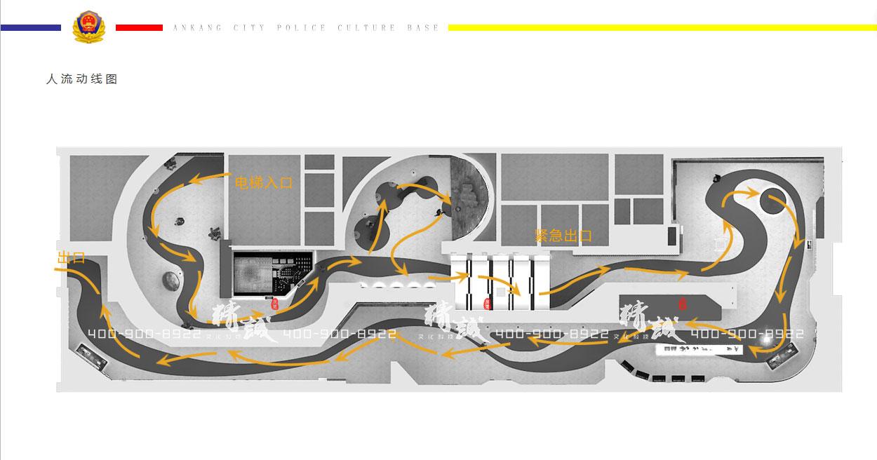 安康市警营文化展厅设计方案概念篇