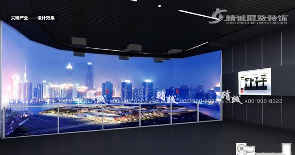 西安统筹科技资源改革展馆设计效果图