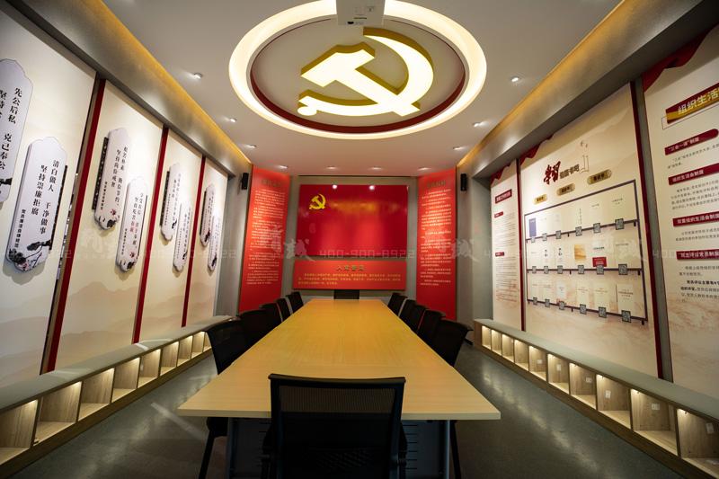 宝鸡长青能源化工党建馆设计与施工完工