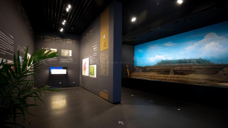 西安汉长安城未央宫历史文化博物馆设计与施工